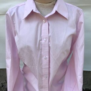 1004ee82 Izod · Izod No Iron Sz M Pink Button Up Dress Shirt